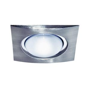 Фото 1/2 1701-8 матовый никель, Светильник встраиваемый