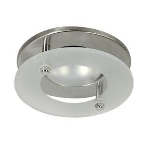 Светильник встраиваемый АКЦЕНТ Wl-272+g матовый хром светильник встраиваемый акцент wl 182 хром