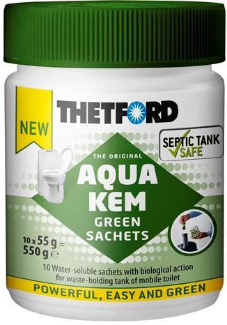 Aqua kem green sachets 220 Вольт 790.000