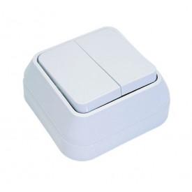 Выключатель Makel Siva ustu (45103) розетка makel siva ustu без заземления цвет кремовый