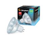 Лампа галогенная АКЦЕНТ JCDR 230В  50W GU5.3 с отражателем и защитным стеклом