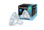 Лампа галогенная АКЦЕНТ MR16 12В  35W 36° GU5.3 с отражателем и защитным стеклом