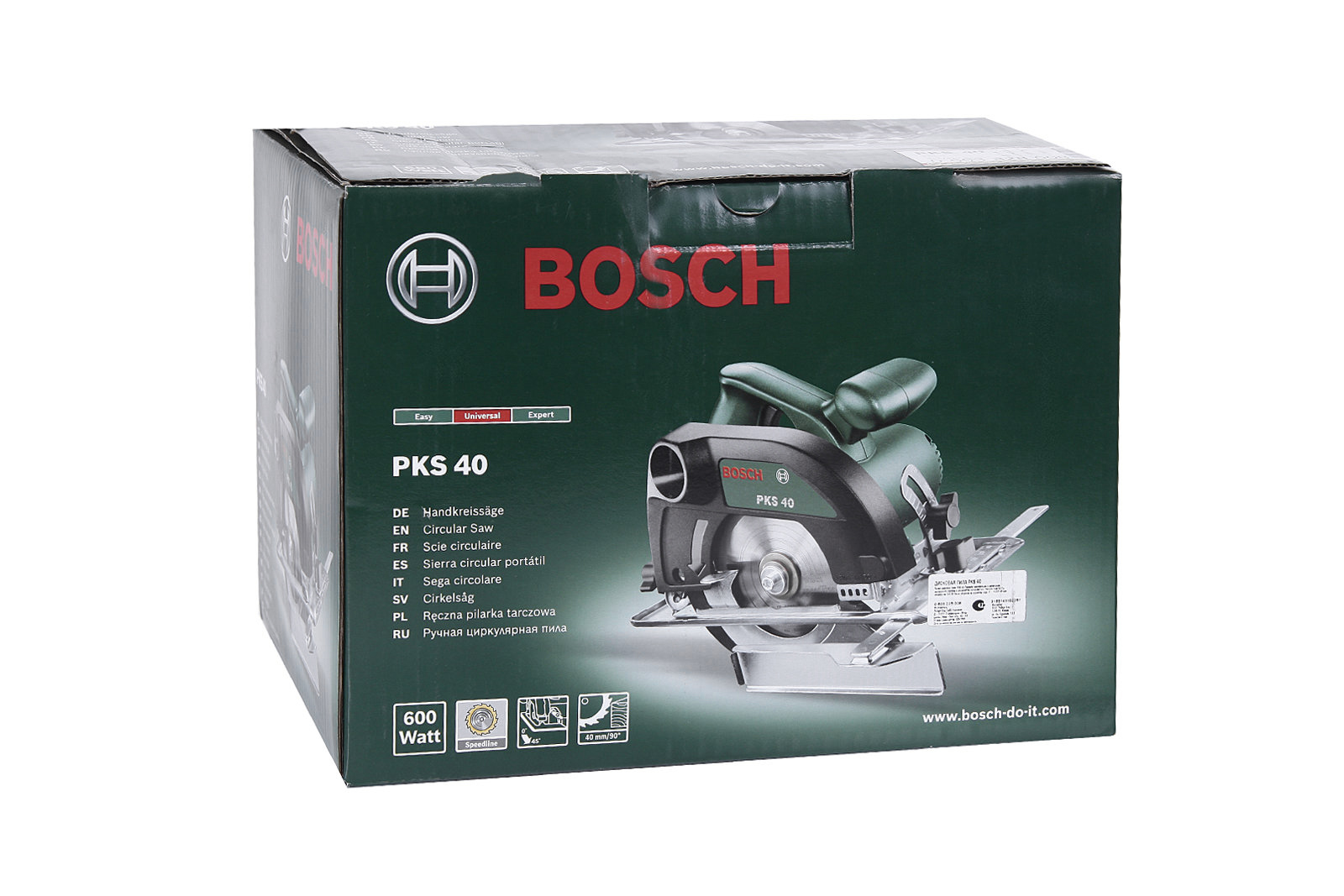 Циркулярная ручная пила Bosch Pks 40 (0.603.328.008)