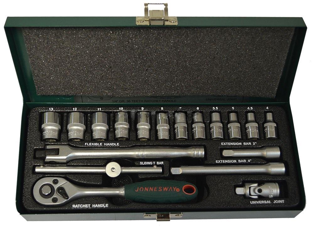 Набор торцевых ключей Jonnesway S04h2118s набор торцевых шестигранных ключей jonnesway h02mh118s