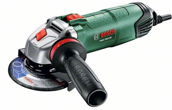 УШМ (болгарка) Bosch Pws 750-125 (0.603.3a2.422) ушм болгарка bosch pws 1000 125 ce 0 603 3a2 820