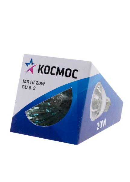 Лампа галогенная КОСМОС 12В/20Вт gu5.3