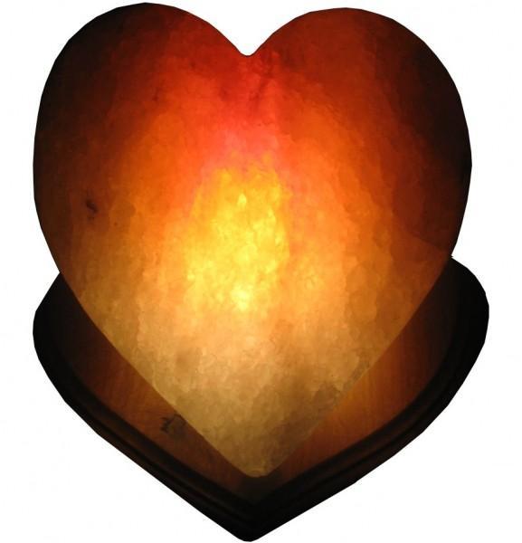 Лампа солевая Zenet Сердце лампа солевая zenet бриллиант