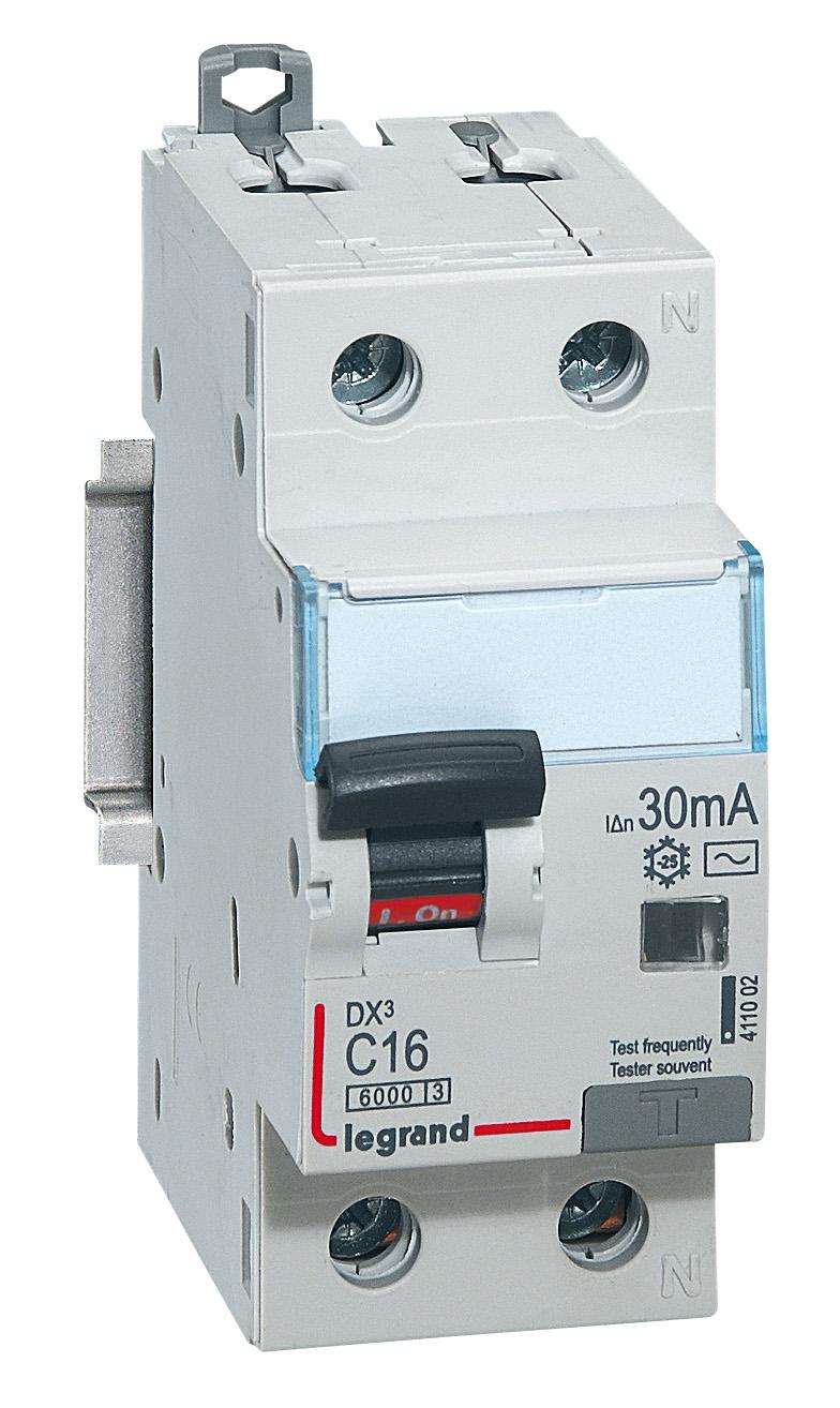 Диф. автомат Legrand Dx3 leg 411002 выключатель дифференциального тока legrand dx3 1п н c16а 30ma ac 411002