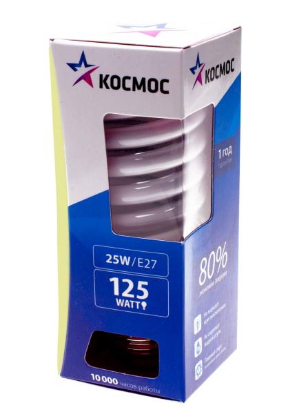 Лампа энергосберегающая КОСМОС 67529