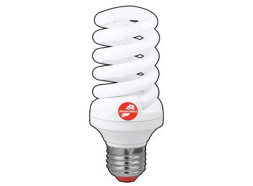 Лампа энергосберегающая ЭКОНОМКА 25Ватт 4200К E27 Т3