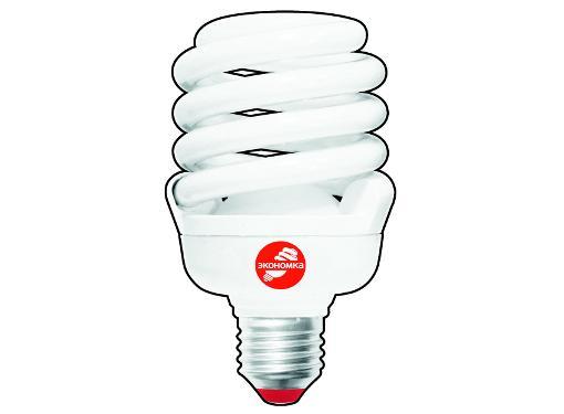 Лампа энергосберегающая ЭКОНОМКА 30Ватт 4200К E27 Т3