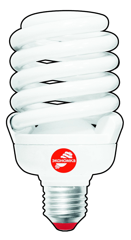 Лампа энергосберегающая ЭКОНОМКА 208236 elektrostandard лампа энергосберегающая компакт винт теплый свет цоколь е27 15w