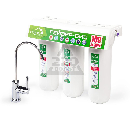 Купить Фильтр для жесткой воды ГЕЙЗЕР Био 331 (с краном), фильтры для воды