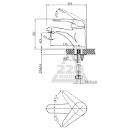 Смеситель для раковины EDELFORM Sepia SP1800