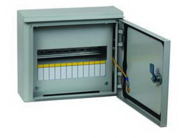 Щит Ekf ЩРН-12 (з) щит пластиковый лезард щрн п 12 на 12 модулей