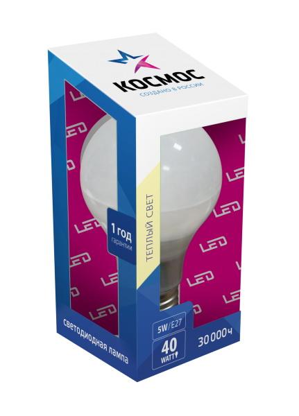 Лампа светодиодная КОСМОС 264741 удлинитель шнур lux без заземления 1 розетка 10 м