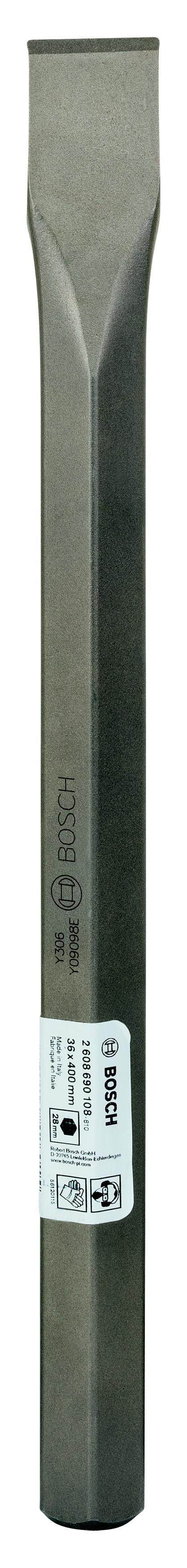 Зубило Bosch 36x400 плоское (2.608.690.108) зубило плоское bosch 1618600210