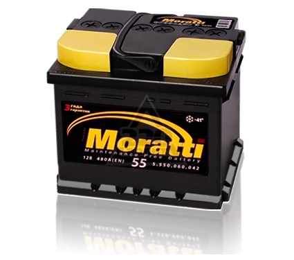 Аккумулятор MORATTI YTX4L-B