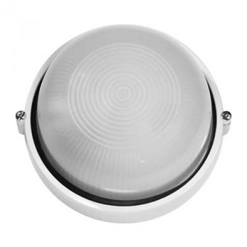 Светильник настенно-потолочный IekСветильники офисные, промышленные<br>Назначение светильника: для производственных помещений,<br>Тип лампы: накаливания,<br>Мощность: 60,<br>Количество ламп: 1,<br>Патрон: Е27,<br>Датчик движения: нет,<br>Степень защиты от пыли и влаги: IP 54,<br>Цвет: белый<br>
