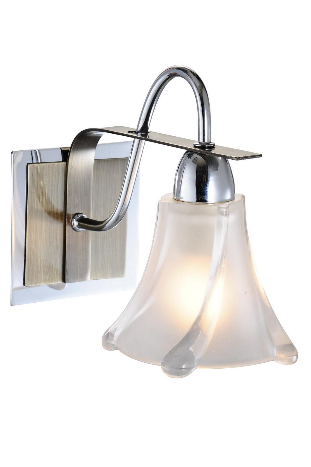 Бра МАКСИСВЕТ Н Еврокаркасы 03006w/1 cr+antique brass бра максисвет н медь со стеклом sb07001 02