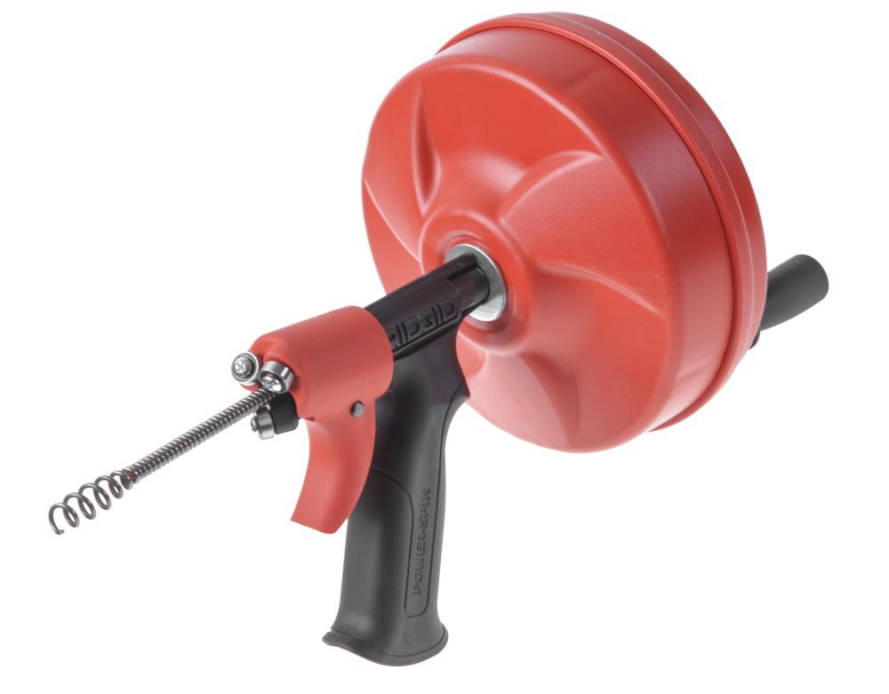 Трос для прочистки Ridgid Power spin 41408 труборез ridgid 23488