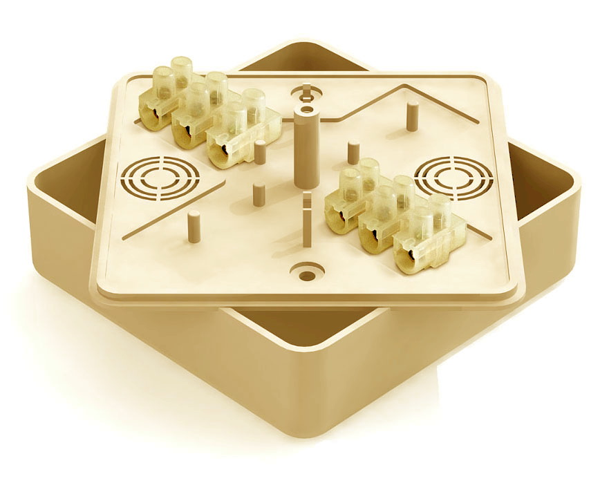 Коробка распаячная Greenel Ge41219-03