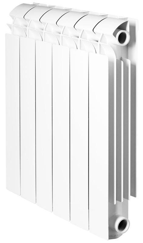Радиатор алюминиевый Global Vox-r  500 x 6 радиатор отопления global алюминиевые vox r 500 12 секций