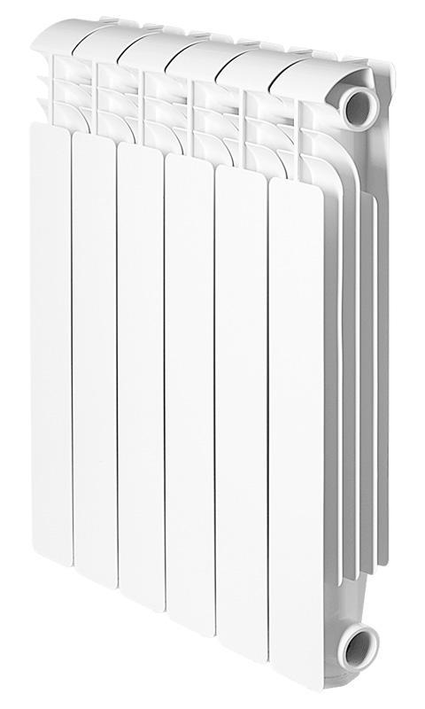 Радиатор алюминиевый Global Iseo  500 x 6 global global iseo 500 5 секций радиатор