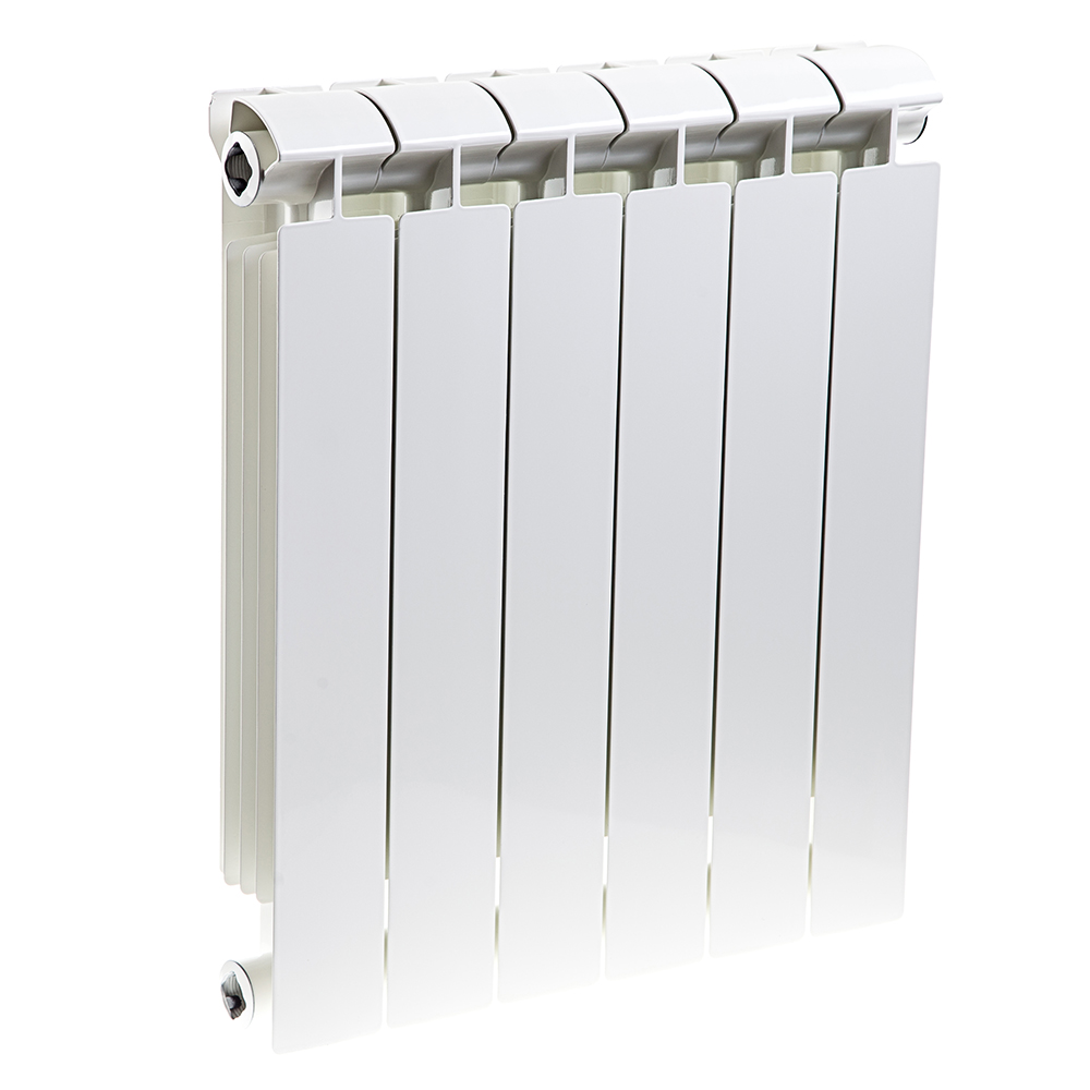Радиатор отопления биметаллический Global Extra new  500 x 6 радиатор отопления global алюминиевые vox r 500 12 секций