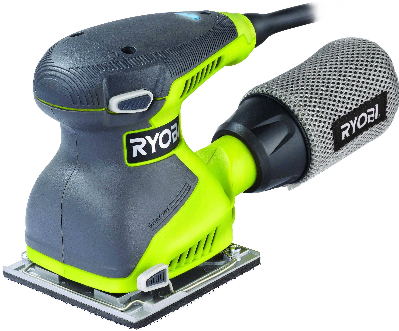 Машинка шлифовальная плоская (вибрационная) Ryobi Eos2410nhg машинка шлифовальная плоская вибрационная bosch gss 23 ae 0 601 070 721