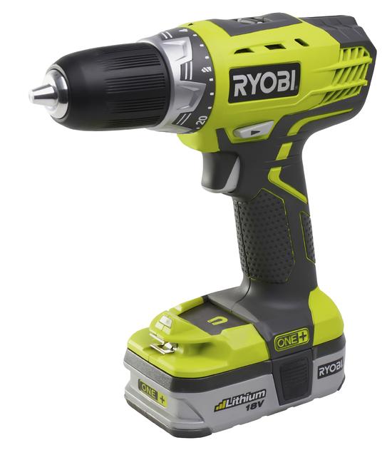 Купить Дрель аккумуляторная Ryobi Rcd18021l