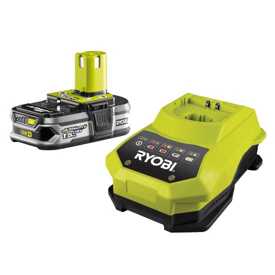 Аккумулятор Ryobi Rbc18l15 18.0В 1.5Ач liion +З/У family vnk 75 120