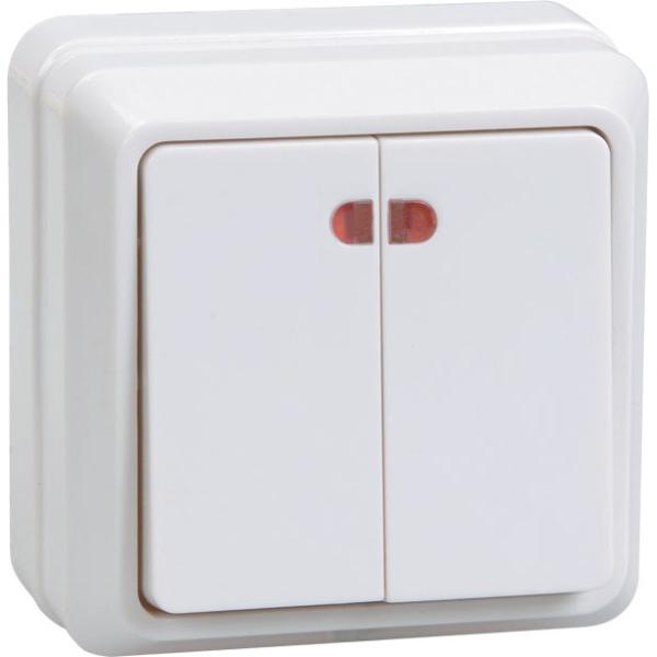 Выключатель Iek ОКТАВА ВС20-2-1-ОБ купить газовый счетчик октава g4