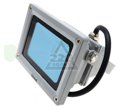Прожектор светодиодный UNIEL ULF-S01-10W/BLUE