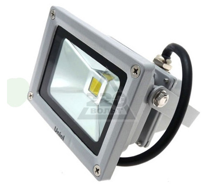 Прожектор светодиодный UNIEL ULF-S01-10W/WW