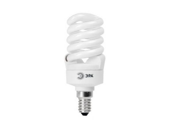Лампа энергосберегающая ЭРА SP-M-9-827-E14 мягкий белый свет (12/48) .