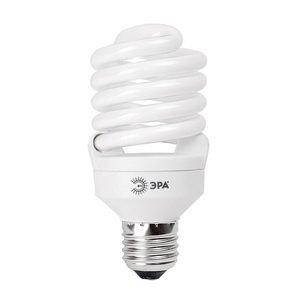 Лампа энергосберегающая ЭРА F-sp-23-827-e27 лампа энергосберегающая e27 20w f sp 4200k дневной свет эра