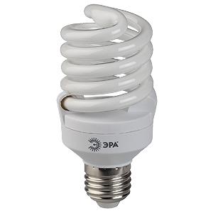 Лампа энергосберегающая ЭРА F-sp-23-865-e27 лампа энергосберегающая e27 20w f sp 4200k дневной свет эра