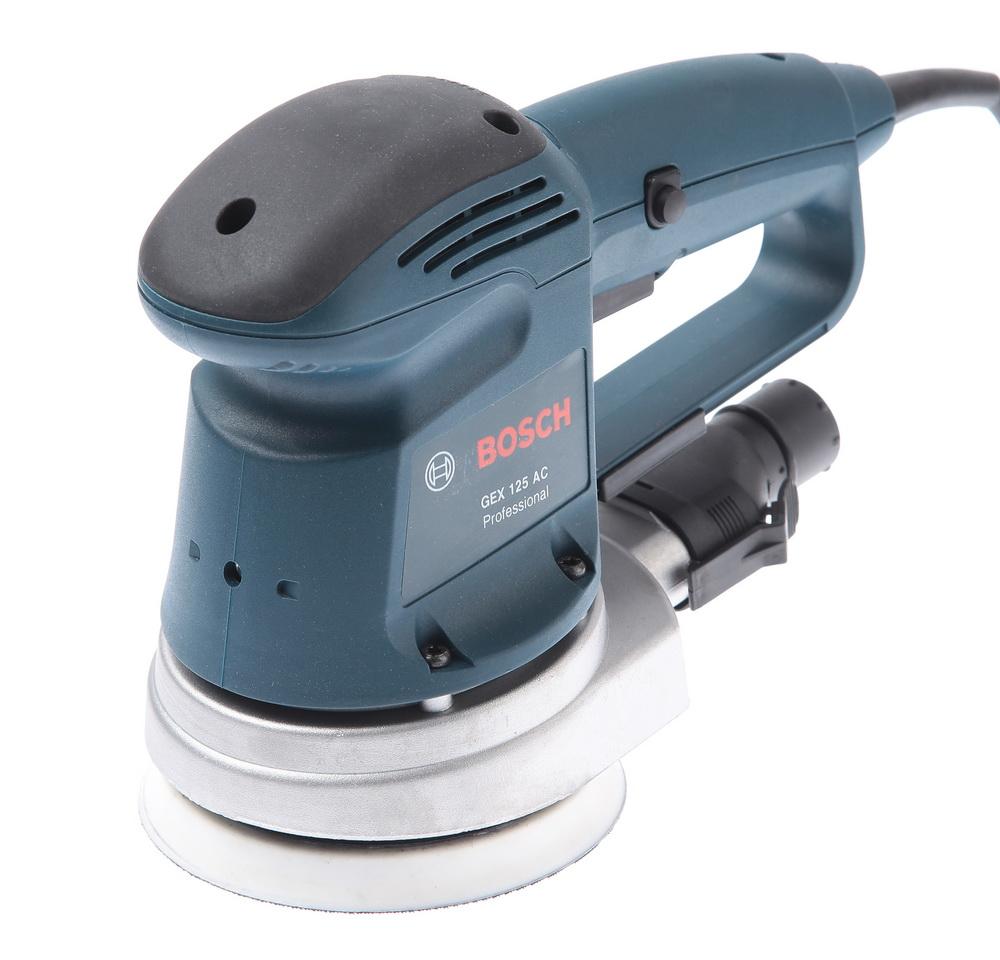 Машинка шлифовальная орбитальная (эксцентриковая) Bosch Gex 125 ac - это успешный выбор. Потому что купить товары марки Bosch - это удобно и недорого.