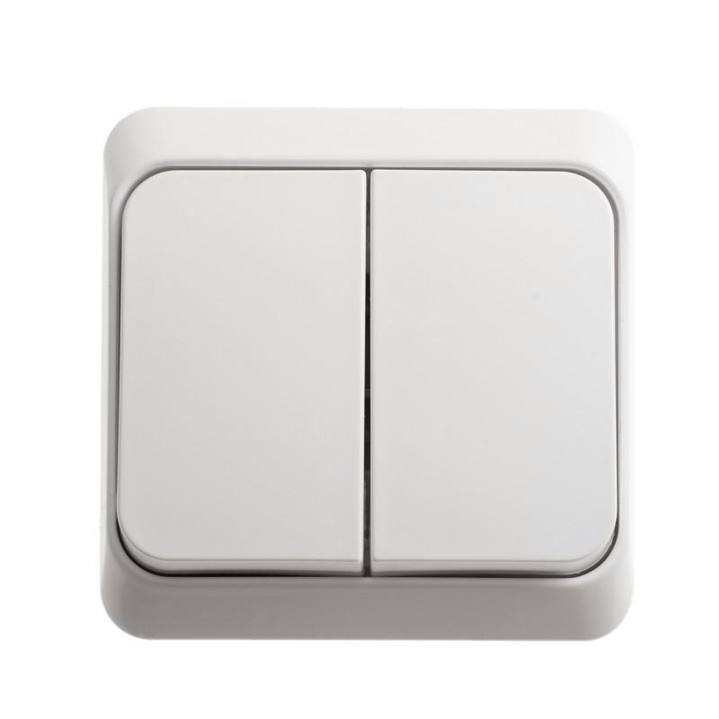 Выключатель Schneider electric Ba10-002b Этюд  блок двойной schneider electric этюд цвет белый bpa16 242b