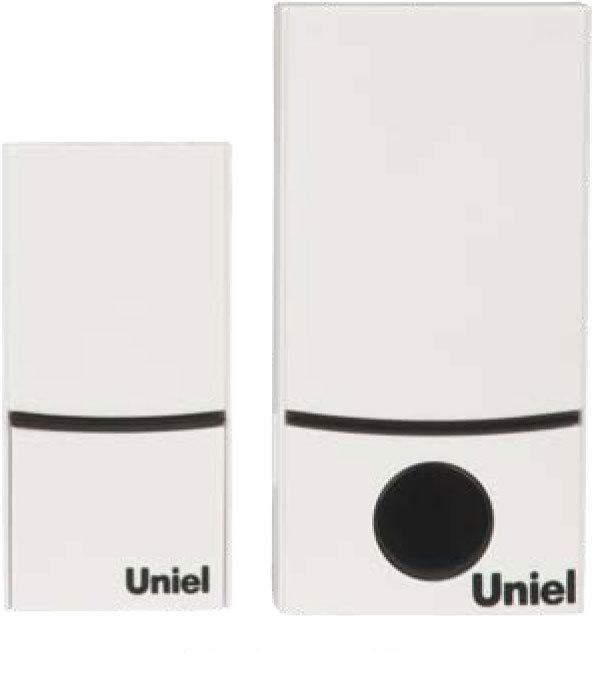 Звонок Uniel Udb-089w-r1t1-32s-100m-wh