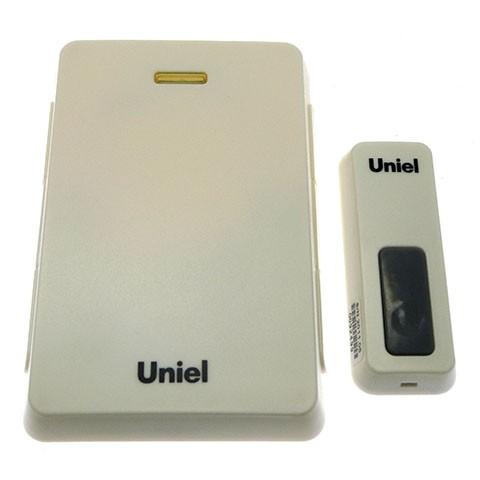 Звонок Uniel Udb-005w-r1t1-32s-100m-wh