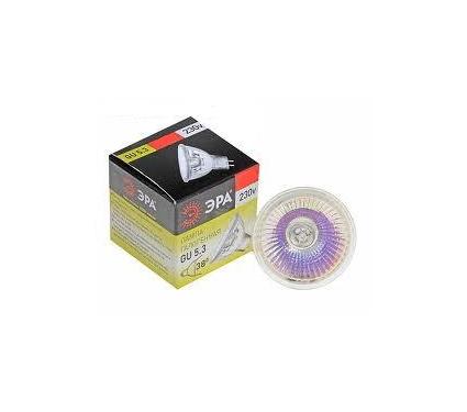 Лампа галогенная ЭРА GU5.3-JCDR (MR16) -75W-230V-Cl