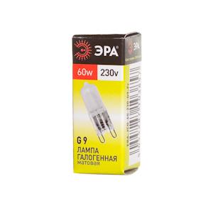Лампа галогенная ЭРА G9-jcd-60-230v-f