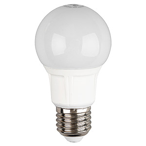 Лампа светодиодная ЭРА Led smd a55-7w-840-e27 лампа светодиодная эра led smd bxs 7w 840 e14 clear