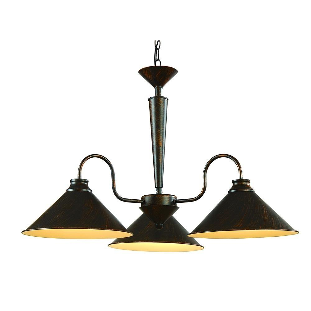 Люстра Arte lamp Cone a9330lm-3br подвесная люстра arte lamp cone a9330lm 5br