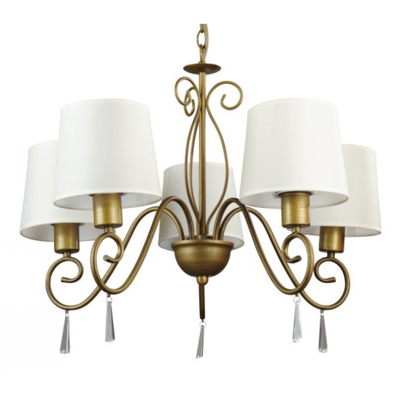 Люстра Arte lamp Carolina a9239lm-5br подвесная люстра arte lamp carolina a9239lm 5br
