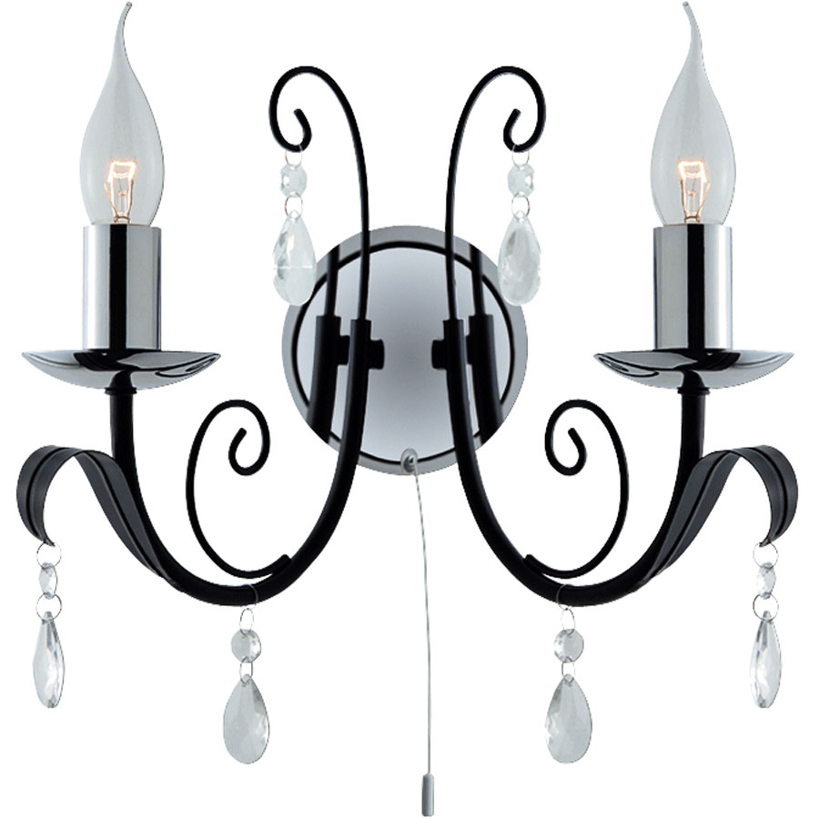 Бра Arte lamp Romana a1742ap-2bk бра a7210ap 2bk arte lamp