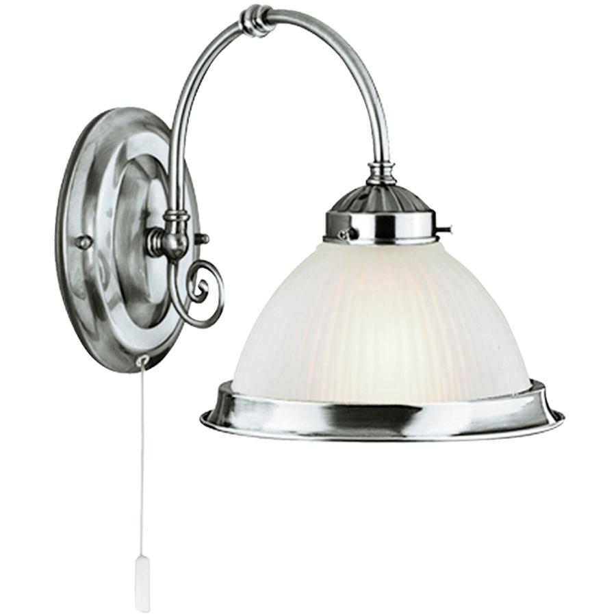 Бра Arte lamp American diner a9366ap-1ss arte lamp 1 x 60 вт е27 a9366ap 1ab