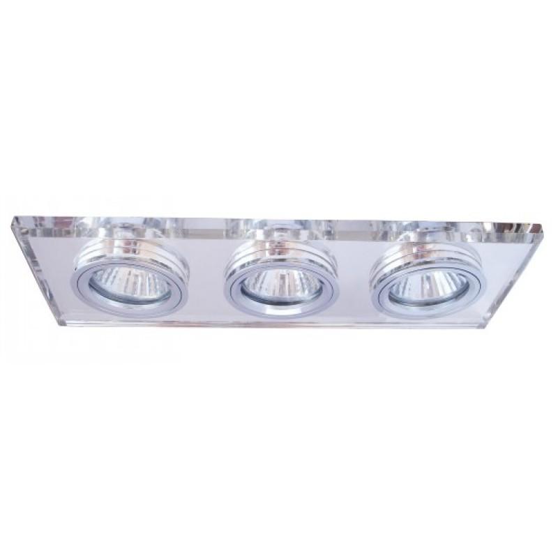 Светильник встраиваемый Arte lamp Ice a5956pl-3cc встраиваемый светильник arte lamp brilliants a5956pl 3cc